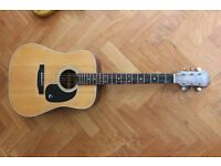 Rare Epiphone acoustic guitar made in Japan MIJ not Gibson