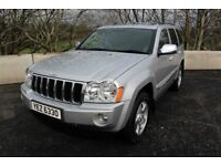 09 JEEP GRAND CHEROKEE 3.0 CRD LIMITED 4WD AUTO TIPTRONIC ++ HEATED LEATHER , SUNROOF & ONLY 69K ++