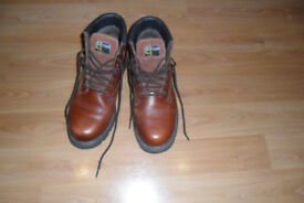 Grafter brown boots size 11
