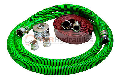 1-12 Epdm Water Suction Hose Honda Kit W50 Red Discharge Hose