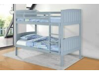 🎉 Sale On Furniture🎉 Single Wooden Bunk Bed In Multi Colors With Optional Mattress📞 Order Now📞