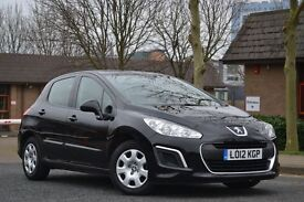 2012 Peugeot 308 1.6 Hdi access £20 a year tax HPI clear Vosa verified