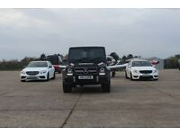 SPM Hire Mercedes C63 / E63 / G63 - G WAGON AMG / Luxury Vehicle Hire / Wedding Car Hire London