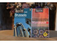 Timeout Brussels and Marrakech Guides