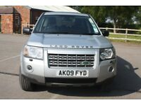 Land Rover Freelander 2.2 Td4 SE Manual 5 Door 4x4 2009 Silver Low Mileage