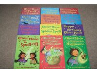 Oliver Moon 12 book collection by Sue Mongredien - excellent condition
