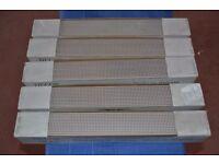 5 BOXES OF BRIGHTON SHINE WARM BORDER TILES (30 TILES) REF BCT14614
