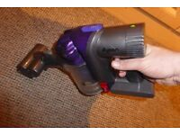 DYSON DC31 CORDLESS HAND HELD VACUUM CLEANER WITH POWER BRUSH HEAD