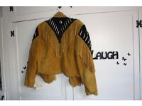 Brand new Native American Suede Jacket