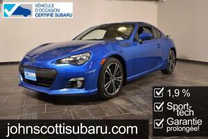 2015 Subaru BRZ Sport Tech 1.9% Extended warranty