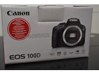 Canon 100D Touchscreen Brand New/Boxed with receipt and warranty