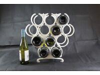 Grape wine rack