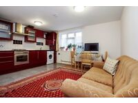 First floor 2 bedroom flat with off street parking and communal garden.
