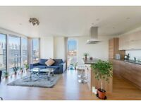 LUXURY 2 BED 2 BATH PANORAMIC TOWER E14 CANARY WHARF POPLAR ALL SAINTS LANGDON PARK BOW CANNING TOWN