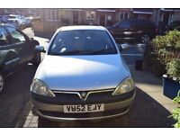 Vauxhall Corsa 1.2l MOT/work needed - read description!
