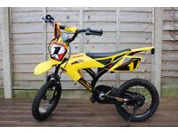 AVIGO NR 1 Kids Bike, stabilaisers, 3 - 6 years, used, good cond, delivery