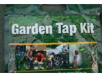 Garden Tap Kit ... as new, never installed, (open packaging) made of brass