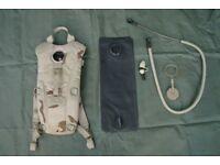 US Military - Desert Camouflage 3L Camelbak Hydration System