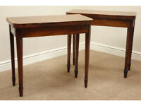A pair of Card, or Breakfast Tables - solid wood and delivery available