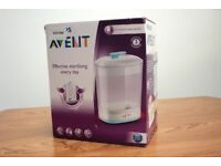Philips Avent SCF922 Electric Steam Steriliser (sterilises baby bottles, etc)