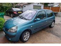 Renault Clio 1.2 (2003) **Low Mileage**