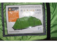 New Unused 6 Person Hi Gear Zenobia Tent with camping accessories