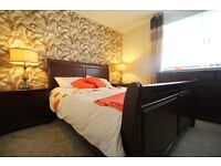 Bedroom Furniture for sale, King size bed, 2x Bedside Cabinets, Dresser and Chest of drawers.