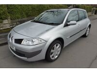 RENAULT MEGANE 1.6 DYNAMIQUE ** O6 PLATE ** 43,000 MILES ** FULL HISTORY **PAN ROOF **