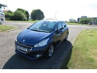PEUGEOT 208 1.4 ALLURE HDI,2013,48,000,Air Con,Cruise,F.S.H,74mpg ZERO ROAD TAX,Very tidy Vehicle