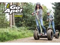 Go Ape Segway Voucher for Two (any UK location) (worth £70)