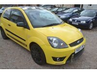 FORD FIESTA 1.6 Zetec S 30th Anniversary 3dr (yellow) 2007