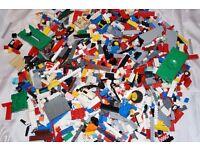 LEGO USED BRICKS OVER 2 KG.
