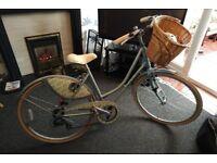 Claud Butler Mistral Premier Ladies Bike WITH Basket