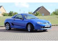 MGTF 1.6 115bhp Stunning Trophy Blue - Very Nice condition car Leather Hardtop