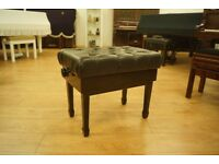 Second hand adjustable concert piano stool