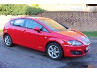 2012 Seat Leon 1.6 TDI Ecomotive Copa (103 bhp) Free Road Tax Stop Start, 1 Previous Owner New MOT
