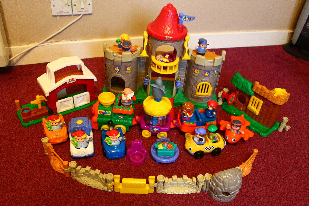fisher price little people castle with sound in arbroath angus