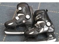 Oxelo Ice Skates - Adjustable (Brand New)