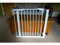 Lindam Stair Gate Guard with Extension that spans up to 89cm. Two available