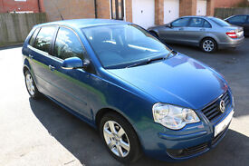 2008 1.4 Match Polo. Blue. Excellent condition, FSH. New car forces sale. Very low mileage for year.