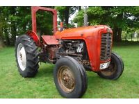 MASSEY FERGUSON 35 1961 3 CYL DIESEL FULLY TRACTOR WORKING SEE VIDEO CAN DELIVER NO VAT BARGAIN