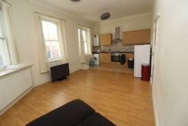 First Floor Flat. Two Double Bedrooms. Open Kitchen and Lounge.