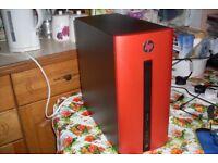 HP Pavilion 550 PC Core i3-6100 3.7GHz 8GB RAM 1TB Windows 10 Radeon R5 2GB GPU Wi-Fi BT Gaming ?