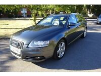 2007 (07) AUDI A6 AVANT 2.0 TDI S-LINE ESTATE - 6 SPD MANUAL - 1 PREV OWNER - FULL SERVICE HISTORY