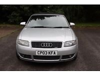 Audi A4 Sport 1.8T convertible S-line (not BMW Z3 Mercedes SLK CLK etc) REDUCED PRICE