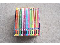 ENID BLYTON 12 Exciting School Adventures Boxed Set rrp £59.88