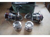 Two Fishing Reels - Abu Garcia Cardinal 606 ALB