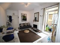 CHARACTER ONE BEDROOM FLAT WITH TRANQUIL ROOF TERRACE IN THE HEART OF CAMDEN TOWN, THREE MINS TUBE