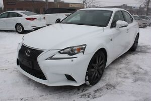 2014 Lexus IS 250 F-SPORT RED INTERIOR