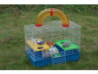 Rat cage with starter kit - compete with toy rat! £50 o.n.o